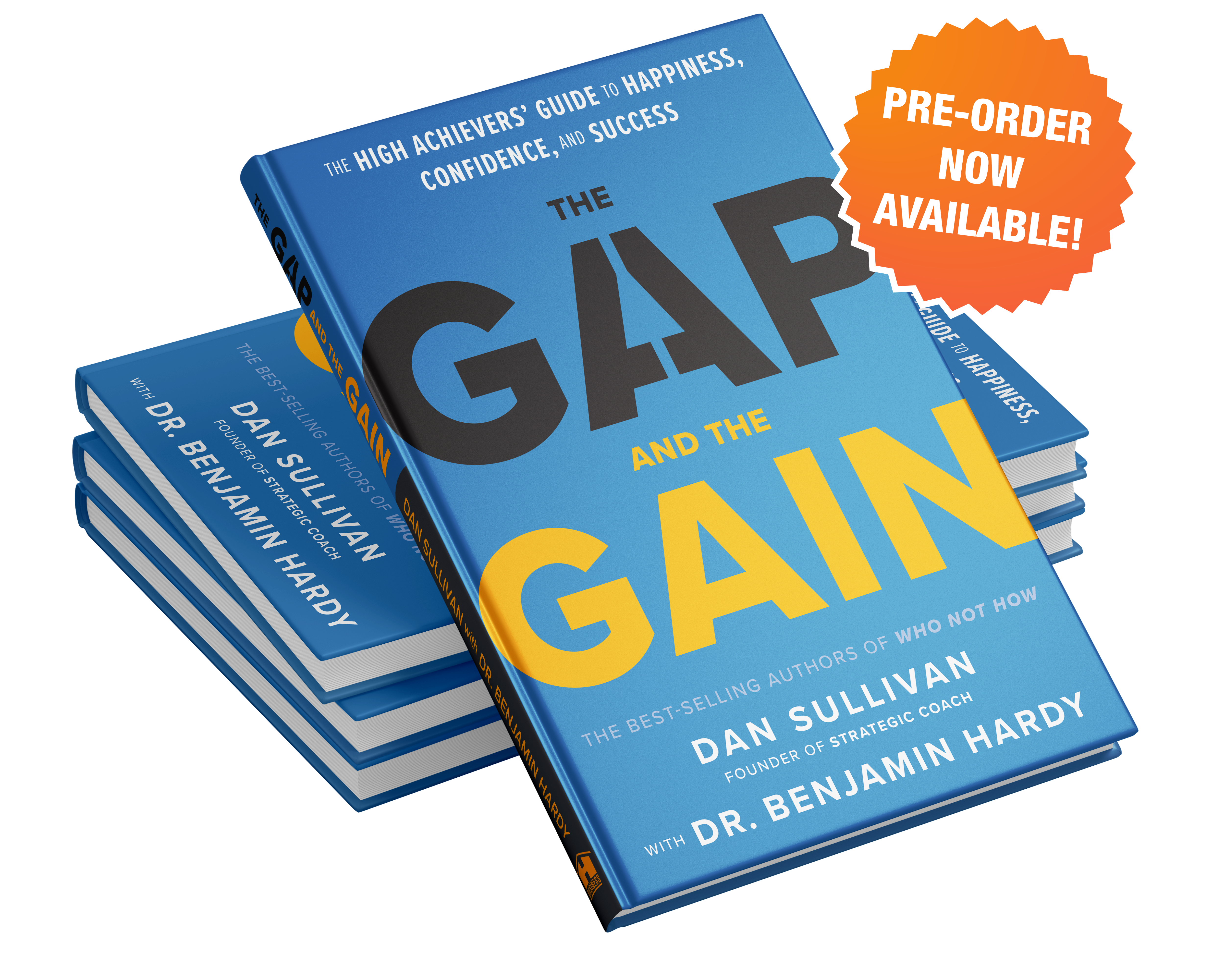 The Gap And The Gain Book Pre-order Available Now